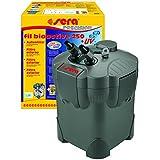 sera 30604 fil bioactive 250 + UV - Aussenfilter fürs Aquarium bis 250 l mit integrierten 5 Watt UV-C (reduziert Krankheitserreger, Parasiten und Algenwuchs)