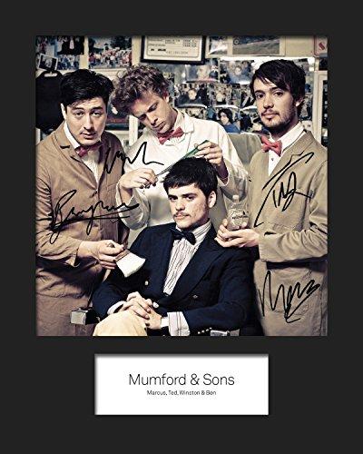 """Mumford Sons#1 & Targhetta per foto 20 """"x 25 cm"""