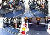 Smart ForTwo Kofferraumabdeckung und Träger für alle Smart 450und 451Modelle–Lederimitat Schwarz