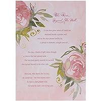 Hallmark Sympathy Card 'Rose Beyond The Wall' - Medium