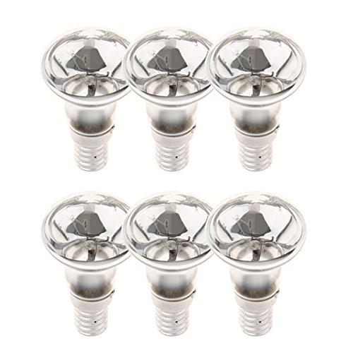 FLAMEER E14 R39 Glühlampe Glühbirne Reflektorlampe 25W - 6 Stück