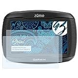 Bruni Schutzfolie für Garmin Zumo 340LM CE Folie - 2 x glasklare Displayschutzfolie