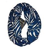 Loop Cary Frauen Loop Schal Infinity Wrap versteckte Reißverschlusstasche warme Reise paar Schals Schals Schlauchschal Rundschal Halstücher uni unifarben Loopschal einfarbig H