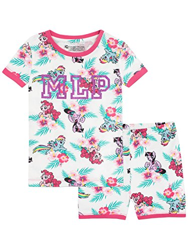 My Little Pony Girls Pinkie Pie Rainbow Dash and Twilight Sparkle Snuggle Fit Pyjamas Ages 2 to 10 Years