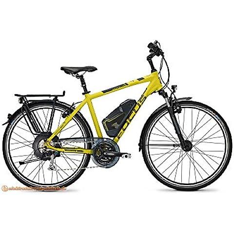 'Focus Aventura X24E-Bike E Bike Pedelec bicicletta elettrica 28Wave 50cm Neon giallo uomo 11Ah 396wh batteria