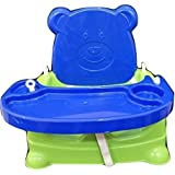 Toyboy Honey Bee 5 In 1 Baby Booster Seat Cum Swing - Blue
