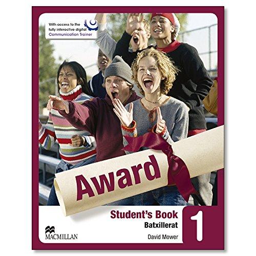 Award 1- Sudent´s Book (Batxillerat) - 9780230479012