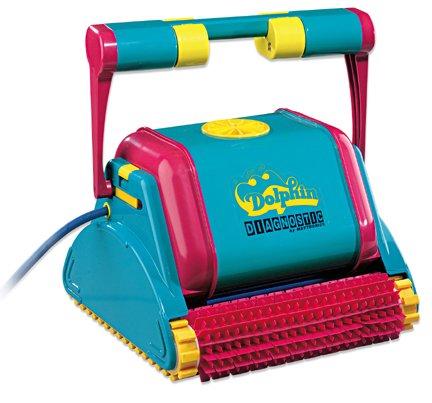 Robot pulitore automatico per piscina Dolphin Diagnostic 2001 per piscine fino a 12x6