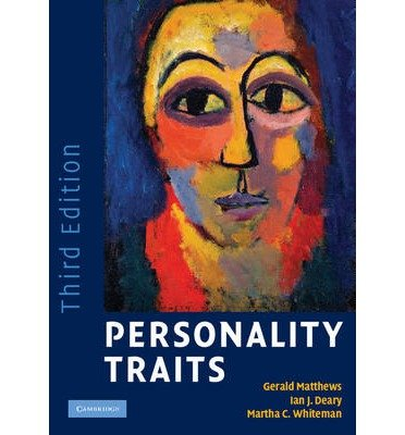 [(Personality Traits)] [ By (author) Gerald Matthews, By (author) Ian J. Deary, By (author) Martha C. Whiteman ] [November, 2009]