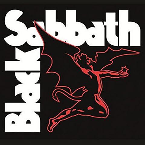 Black Sabbath - Sottobicchiere con logo band demone, singolo ufficiale, 9,5x9,5cm