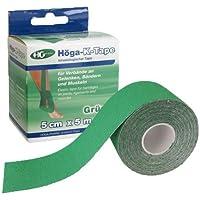 HÖGA-K-TAPE 5 cmx5 m grün kinesiologischer Tape 1 St preisvergleich bei billige-tabletten.eu
