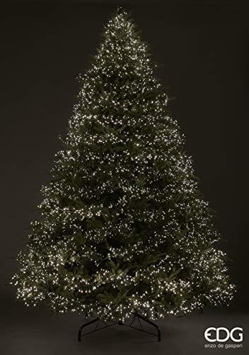 Árbol de Navidad Spark 360 cm preiluminado con 13600 mini LED muy frondoso 10047 ramas
