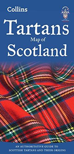 Tartans Map of scotland. Varias escalas. Collins. (Collins Pictorial Maps) por VV.AA.