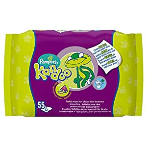 Kandoo Lingettes x55 Melon - Lot de 4