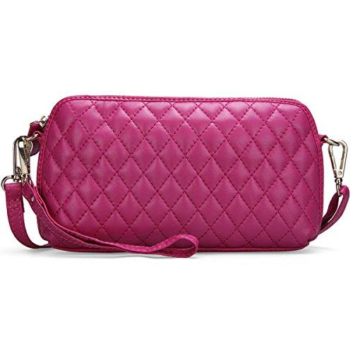 Luxus-Mode Lingge Kette Frau Messenger Europäische Und Amerikanische Frauen Tasche Pink