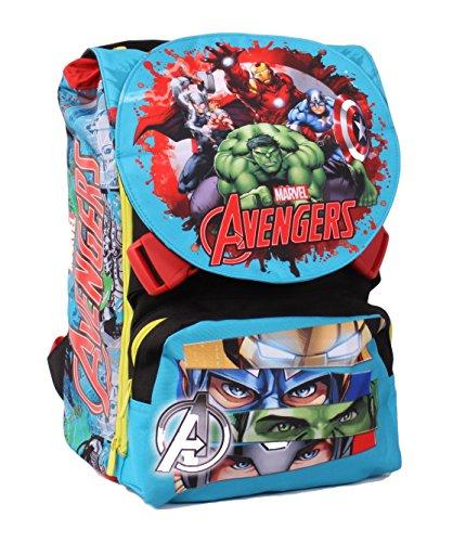 Seven Avengers 239001604-519 Zaino da Scuola Sdoppiabile, Estensibile, 28 litri,...