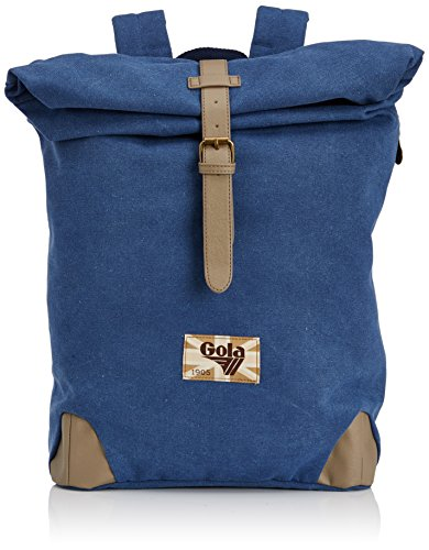 47 Tasche (Gola Barlowe CUB399 Damen Rucksackhandtaschen 26x47x14 cm (B x H x T), Blau (Blue))