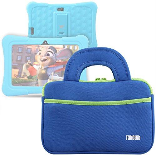 Tab Schutz Tasche für Dragon Touch Y88X Plus Kinder Tablet (Blau)