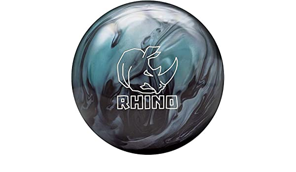 Farben und div Brunswick Bowlingball RHINO div Metallic Blue//Black, 15 Lbs Gr/ö/ßen