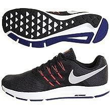 Nike Running Run Swift Black/Matte Silver Bright Crim, Zapatillas de Deporte Unisex Adulto