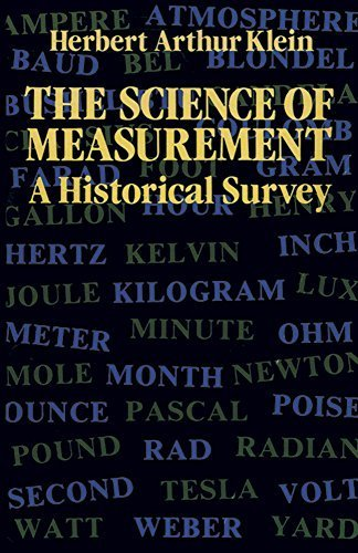 The Science of Measurement: A Historical Survey by Klein, Herbert Arthur (2011) Paperback