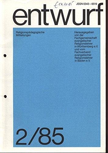 Annäherungen an ein Kruzifix von Jürgen Goertz, in: ENTWURF - RELIGIONSPÄDAGOGISCHE MITTEILUNGEN, 2/1985.