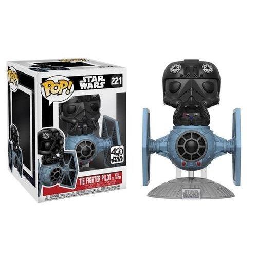 Pop Star Wars Tie Fighter with Pilot Deluxe Vinyl Figure
