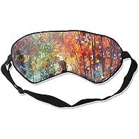 Sleep Eye Mask Walk in Forest Lightweight Soft Blindfold Adjustable Head Strap Eyeshade Travel Eyepatch E1 preisvergleich bei billige-tabletten.eu