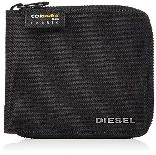 Diesel zippy hiresh s, portafoglio uomo, grigio (grey camou/black), 2x9.5x11.5 centimeters (w x h x l)