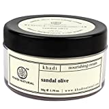 Khadi Sandal and Olive Face Nourishing Cream, 50g