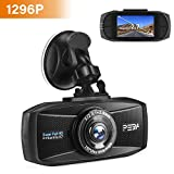 Dashcam Autokamera 1296p mit Nachtsicht PEBA Dash Camera Super HD