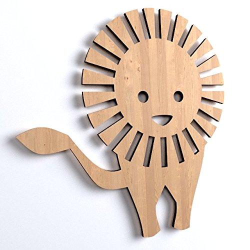 WoMa Kreativ Shop / deutschlandweit einziger Anbieter diesen Hersteller 10x Löwe BabyTier blank Form Holz Basteln Bemalen Aufhängen Dekoration (V78)