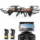 FPV Drohne mit Kamera live übertragung DBPOWER UDI U842 Predator 720P HD Kamera Drone Quadrocopter mit kopflosen Modus für Kinder und Anfänger draußen spielen
