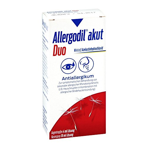 Allergodil akut Duo 4ml At akut/10ml Ns akut 1 stk