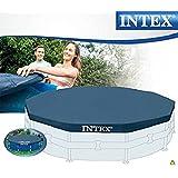 Mac Due Intex 28031 - Telo di copertura per piscine rotonde frame diametro 366cm