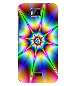 ColourCraft Colour Abstract Design Back Case Cover for HUAWEI HONOR BEE