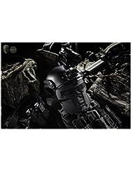 TMC Spartan Metal de malla máscara para Airsoft Paintball milsim–negro