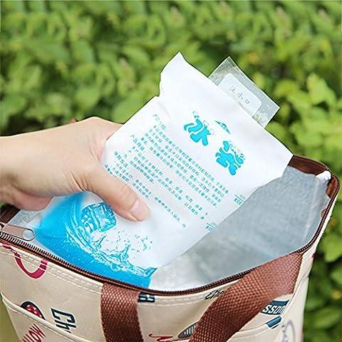 Forfar réutilisable à froid Isolé Ice Gel Pack Glacière Sac Stockage médical vin pour l'alimentation Gamelle Can