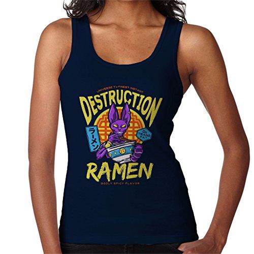 7th Universes God of Destruction Beerus Dragon Ball Z Women's Vest