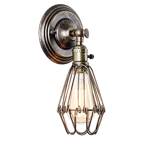 vintage-applique-murale-de-style-industriel-antique-bronze-huile-mini-cage-metallique-diamant-lampe-