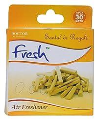 Doctor Brand Air Freshener-Lemon, 50 Grams pack of 9