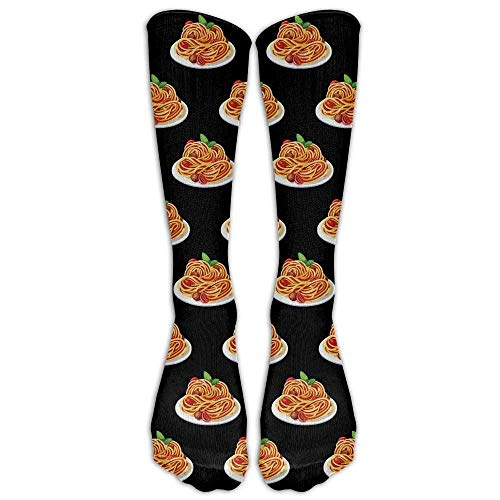 DEFFWBb Women&Men Spaghetti Italian Food Mid Calf Crew Socks Tube Stockings Boot Socks One Size 50cm - Tube Food