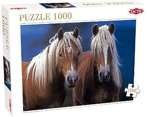 Tactic Two Horses Puzzle - Rompecabezas (Puzzle Rompecabezas, Fauna, Adultos, Cabello, Niño/niña, 8 año(s))