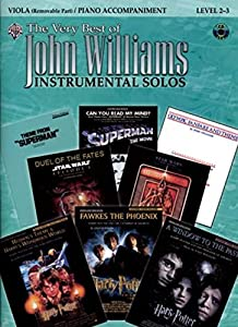 The Very Best of John Williams for Strings: Viola (with Piano Acc.) (Book & CD)