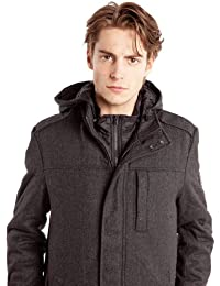 Manteaux & Vestes 2 In 1 Shield Jacket Dark Grey Mel WRANGLER