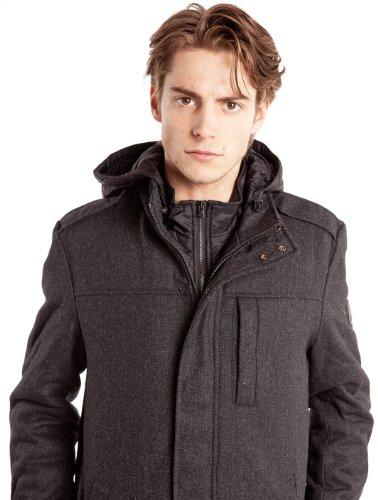 Manteaux & Vestes 2 In 1 Shield Jacket Dark Grey Mel WRANGLER Gris