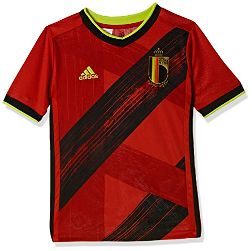 adidas Kinder Belgium Home Jersey T-Shirt, Collegiate Red, Size 128