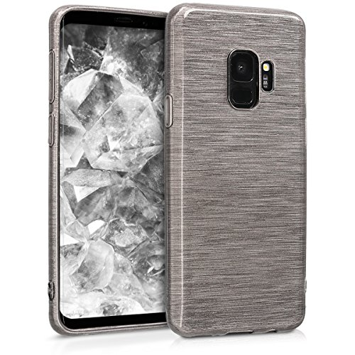 kwmobile Samsung Galaxy S9 Hülle - Handyhülle für Samsung Galaxy S9 - Handy Case in Anthrazit Transparent