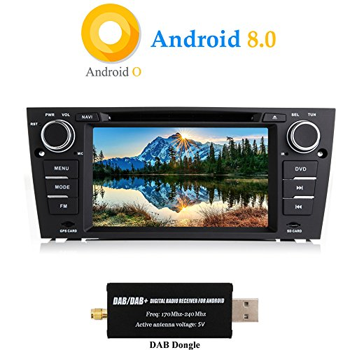XISEDO Android 8.0 Autoradio In-Dash 1 DIN 7