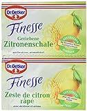 Dr. Oetker Finesse 2er geriebene Zitronenschale, 33er Pack (33 x 1000 ml Packung)